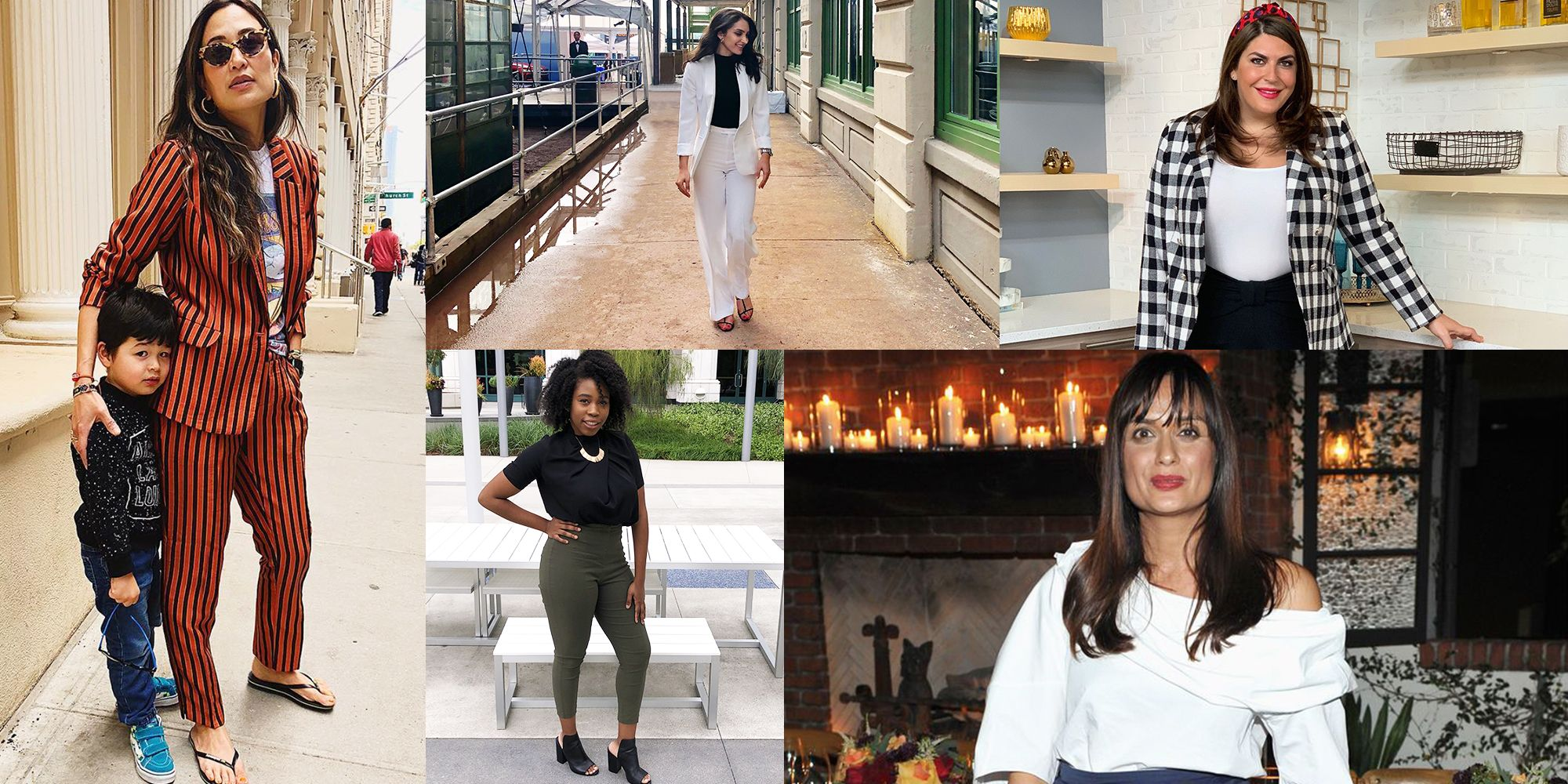 6081b739 18 Women on Their Go-To Work Outfits During the Summer