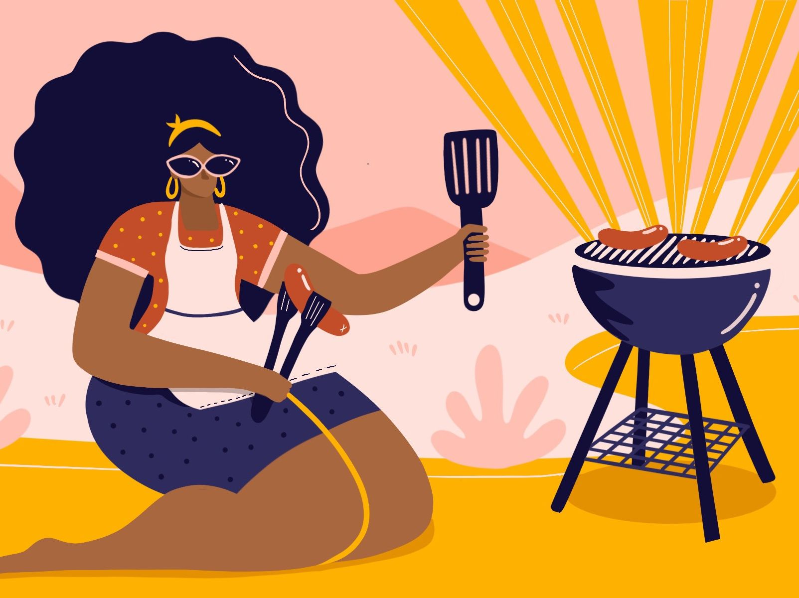 How I Mastered the Grill, and Found Freedom in My Own Backyard
