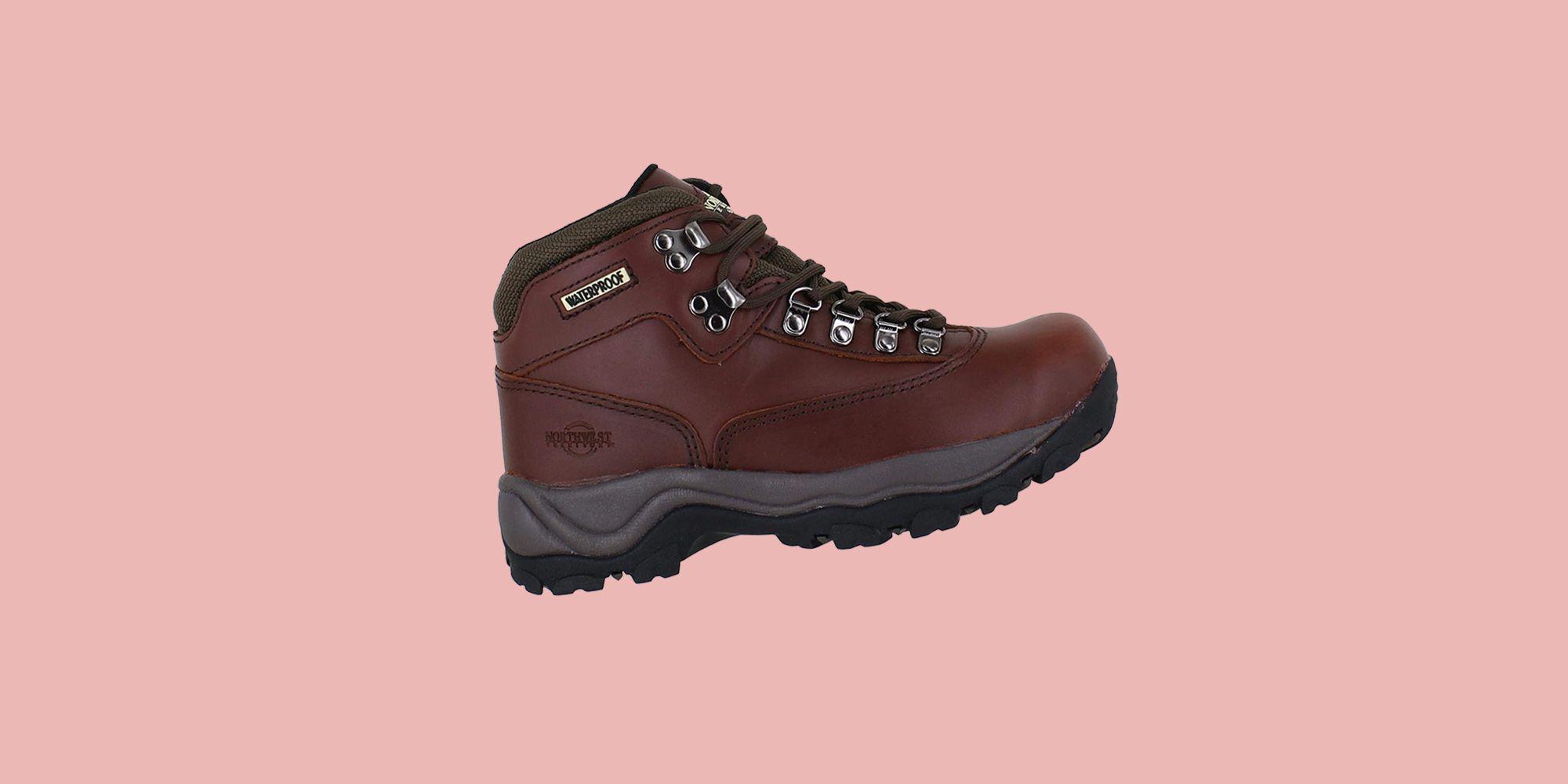 The ladies' waterproof walking boots