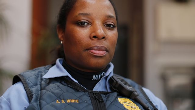 a female officer of the minneapolis police department