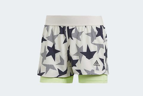 Womens 2-in-1 Running Short