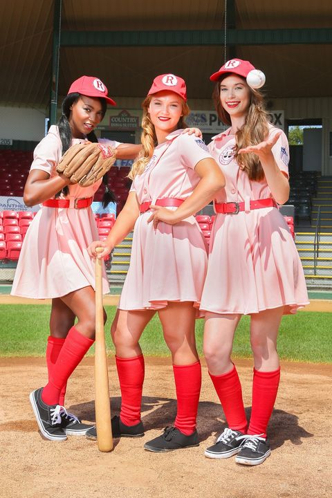 3 person a league of their own bff costume