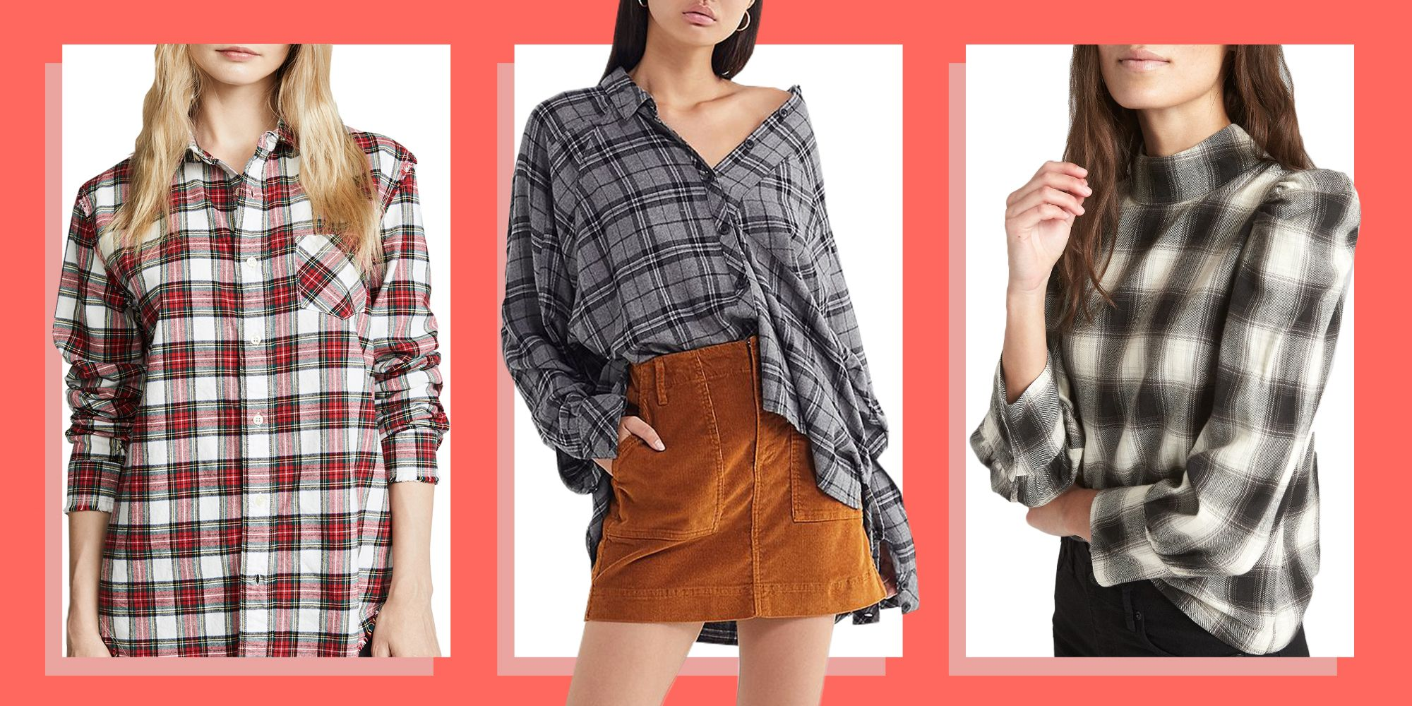 9 Best Womens Flannel Shirts For Fall 2018 Cute Flannel Plaid