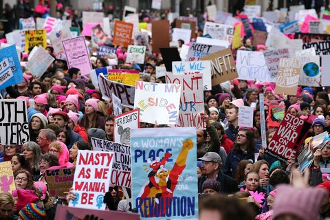 womens march posters