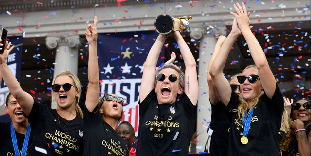 These Photos of Megan Rapinoe and the USWNT Parade Will Change Your Life