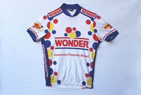 wonderbread cycling jersey
