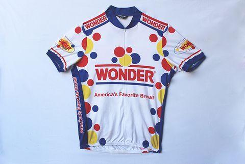 wonderbread cycling jersey
