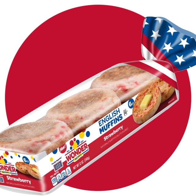 wonder bread strawberry english muffins