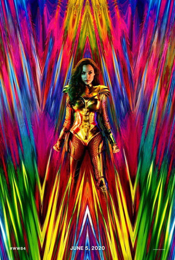 Wonder Woman 1984 has revealed when its first trailer is coming