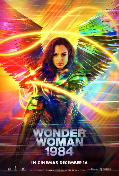 Wonder Woman 1984 Unveils Brand New Poster Ahead Of Release