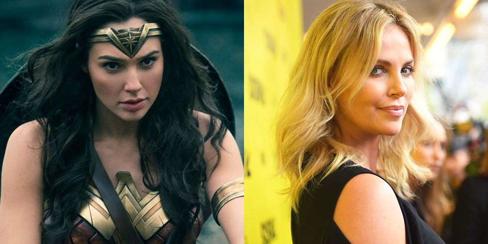 Did Charlize Theron Just Hint That She'd Like a Role in the 'Wonder Woman' Sequel?