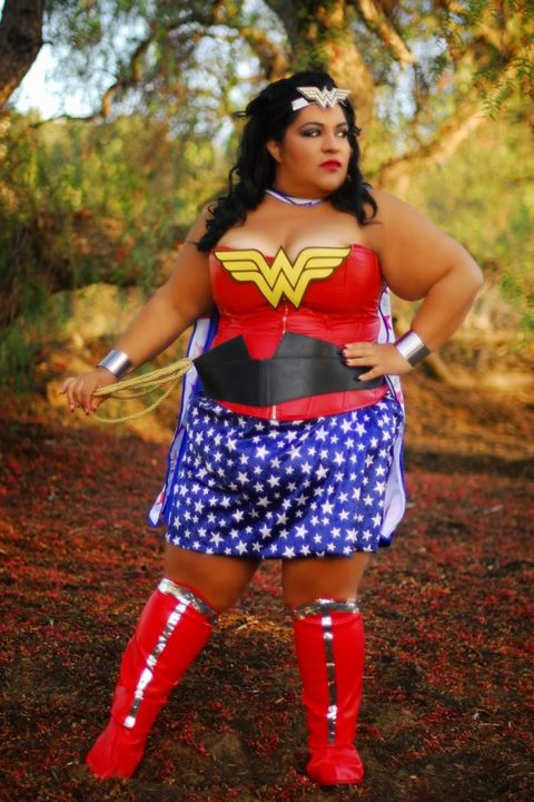 20 Cheap Plus Size Womens Halloween Costume Ideas - Cute -9353