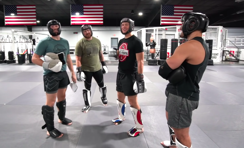 <p>A UFC Champion Sparred With a Bodybuilder plus a Black Belt thumbnail