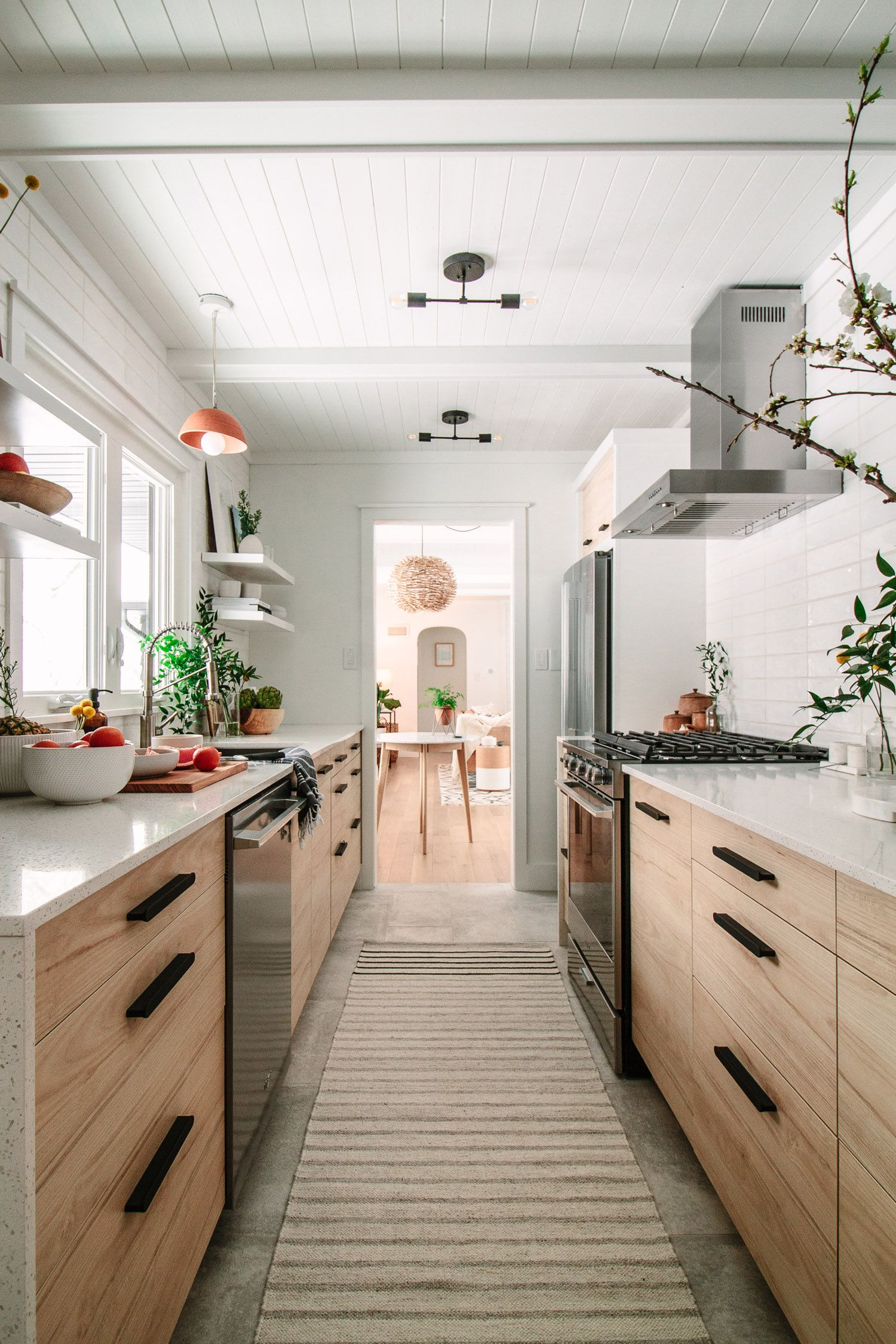 12 Best Galley Kitchen Design Ideas - Remodel Tips for Galley Kitchens