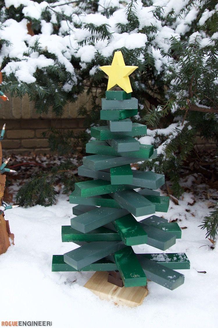 20 Pallet Christmas Tree Ideas Diy Wood Christmas Tree Plans