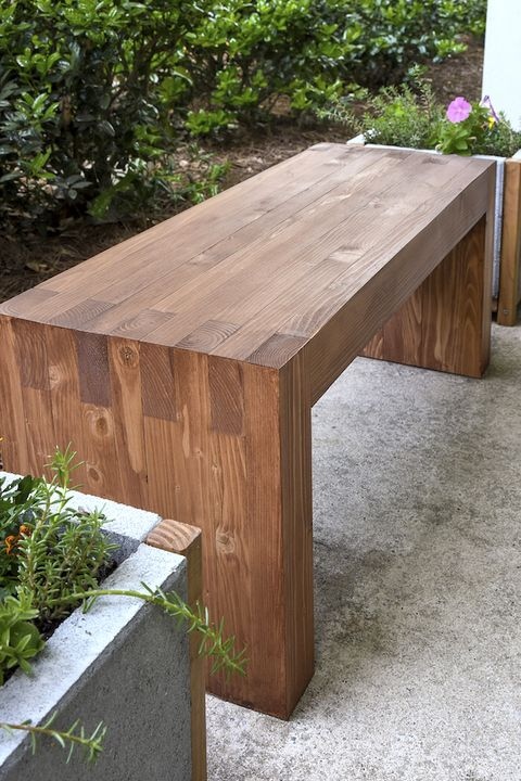 18 Diy Garden Bench Ideas Free Plans For Outdoor Benches