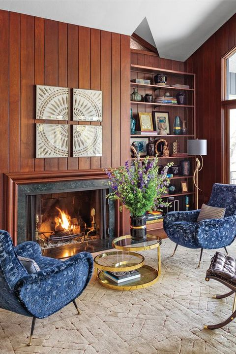 Panelled Room: 10 Creative Wood Paneling Ideas
