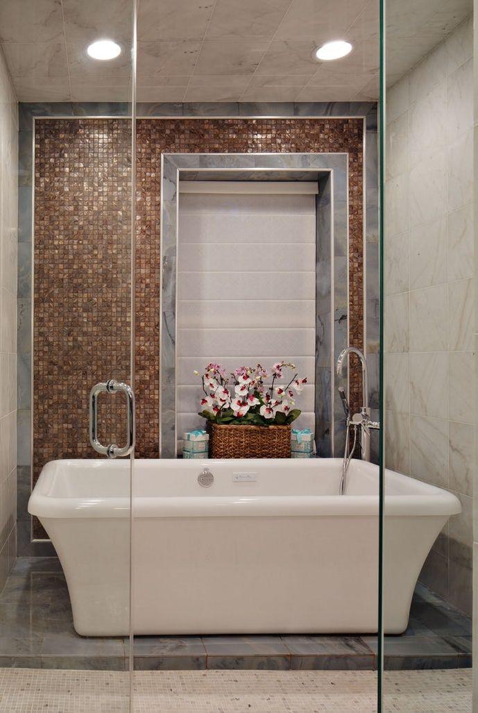 33 bathroom tile design ideas unique tiled bathrooms for Tiles for bathroom walls ideas