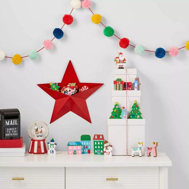 wooden toy advent calendar