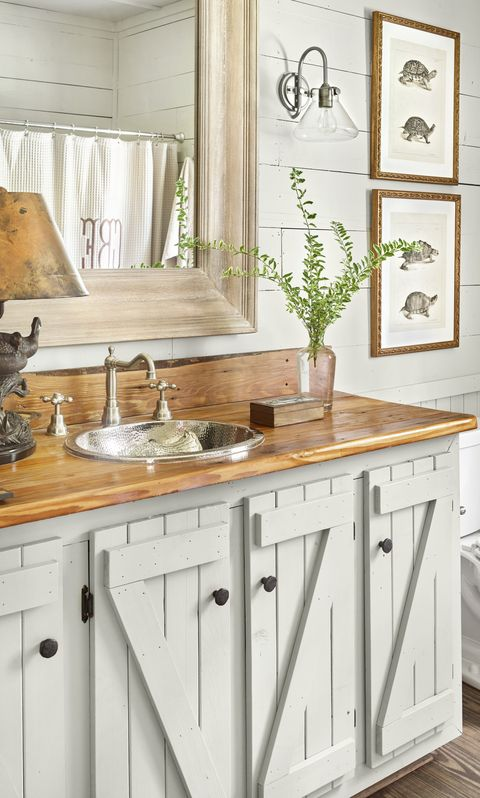 wooden-cabinets-half-bathroom-ideas-country-living