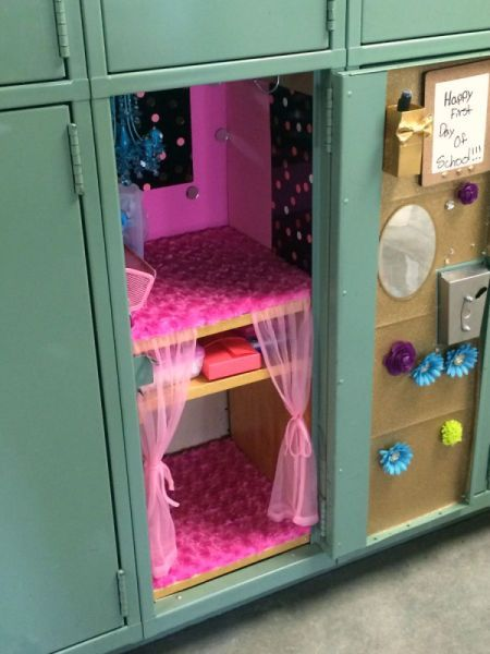 10 Best DIY Locker Ideas in 2018 - DIY Locker Design Ideas