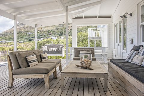 muebles madera exterior