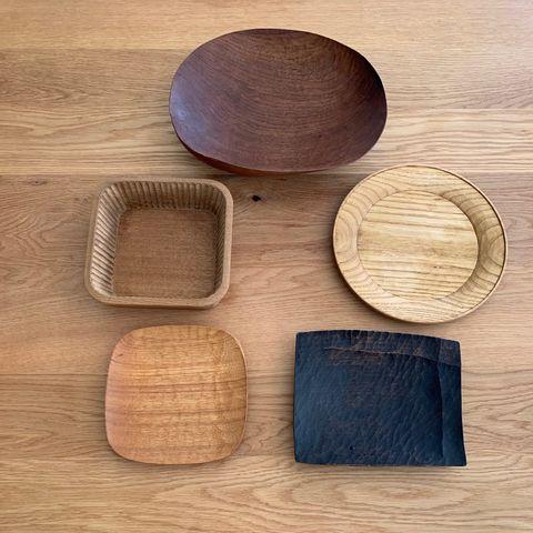 木の器集合