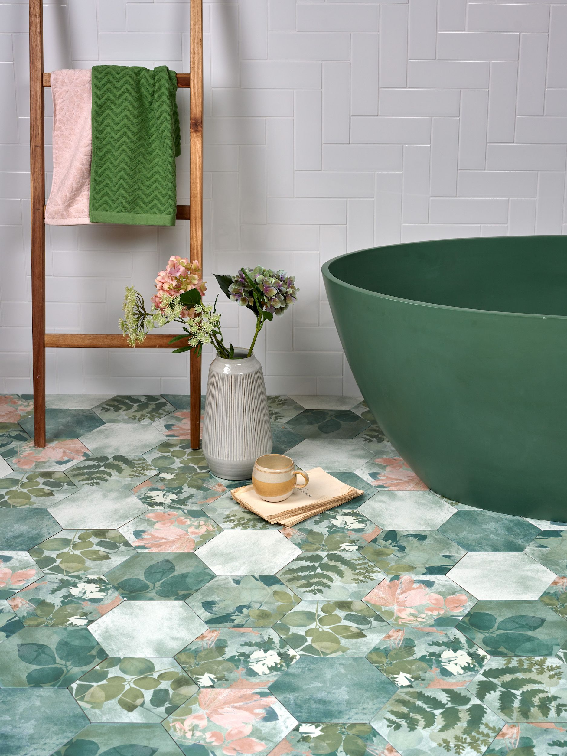 National Trust launches tile collection inspired by its properties and gardens