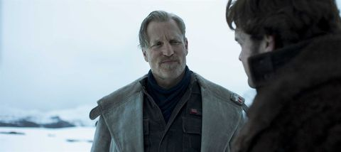 Woody Harrelson en 'Han Solo: Una historia de Star Wars'