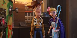 Woody, Little Bo Peep, Toy Story 4