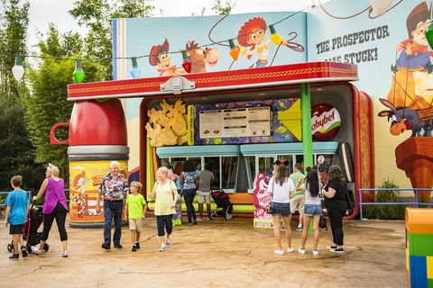 Woody's Lunch Box at Toy Story Land