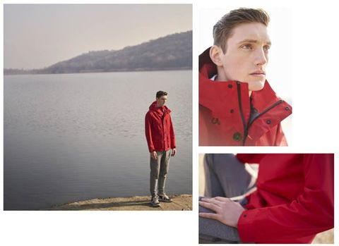 Red, Outerwear, Maroon, Jacket, Collar, Fashion, Neck, Shoulder, Sleeve, Photography,