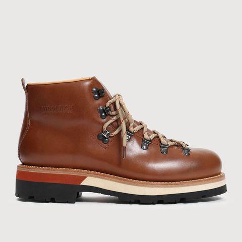 Footwear, Shoe, Brown, Tan, Work boots, Boot, Hiking boot, Outdoor shoe, Leather, Beige,