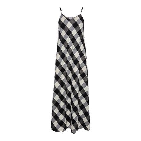 Woolrich geruite slip-dress