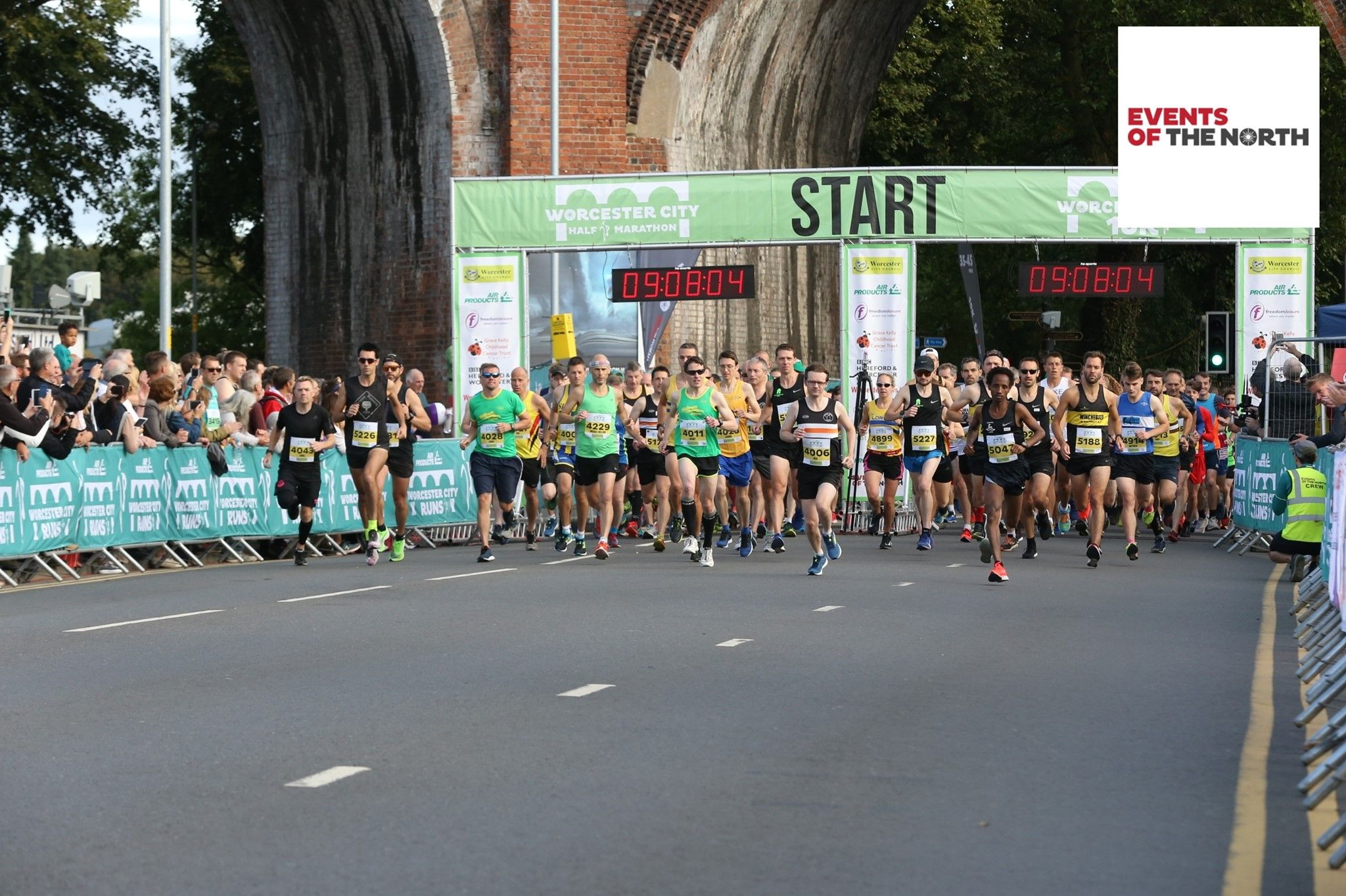 Runner signs up to Worcester half marathon, not realising it was over 3000 miles away