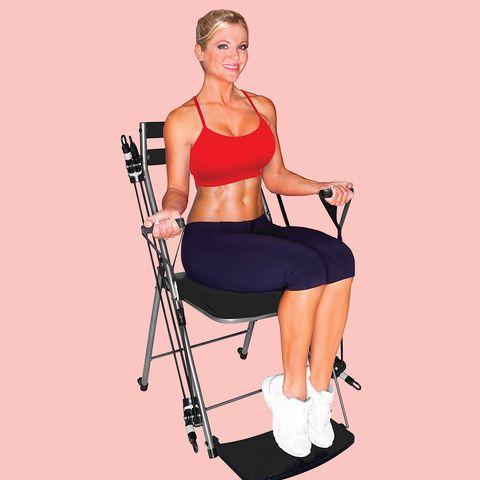 total body workout chair gym amazon