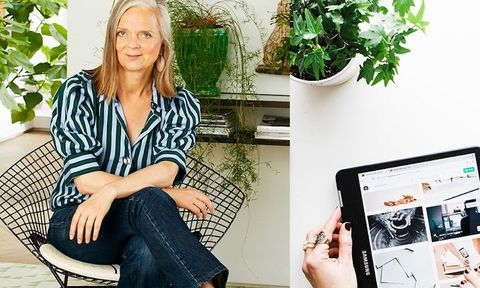 Jeans, Technology, Electronic device, Plant, Photography, Sitting, Fashion accessory, Style, Furniture,