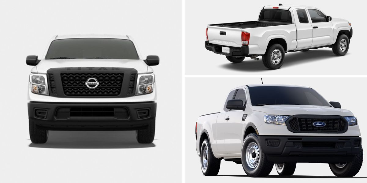 12 Cheapest New Pickup Trucks You Can Buy in 2019