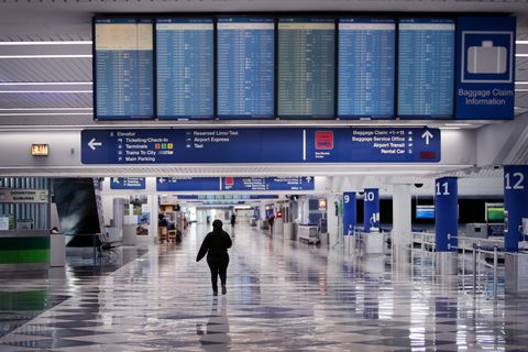 Airports Across Country See Dramatic Slowdown Over Coronavirus Impacts On Travel