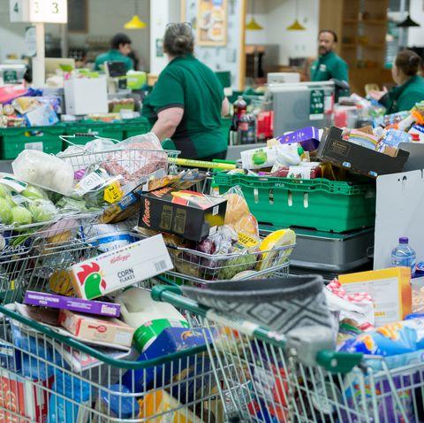 British Retailers Look To Stop Coronavirus Panic-Buying