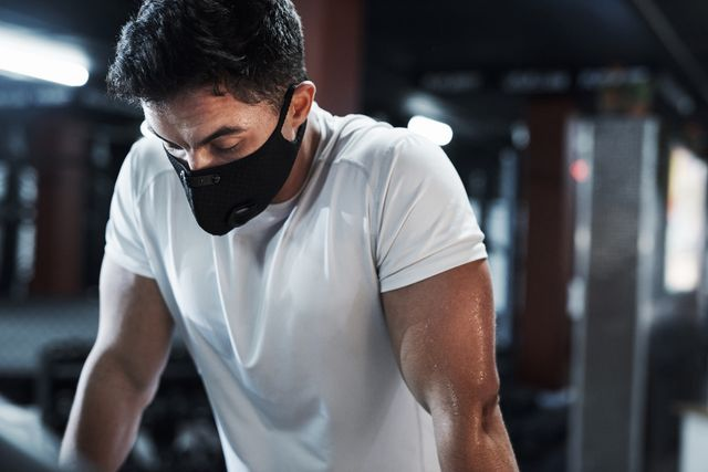 working up a sweat, safely