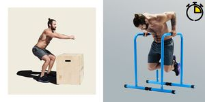 Intensive training gym in Barcelona fitness and sport concepts.