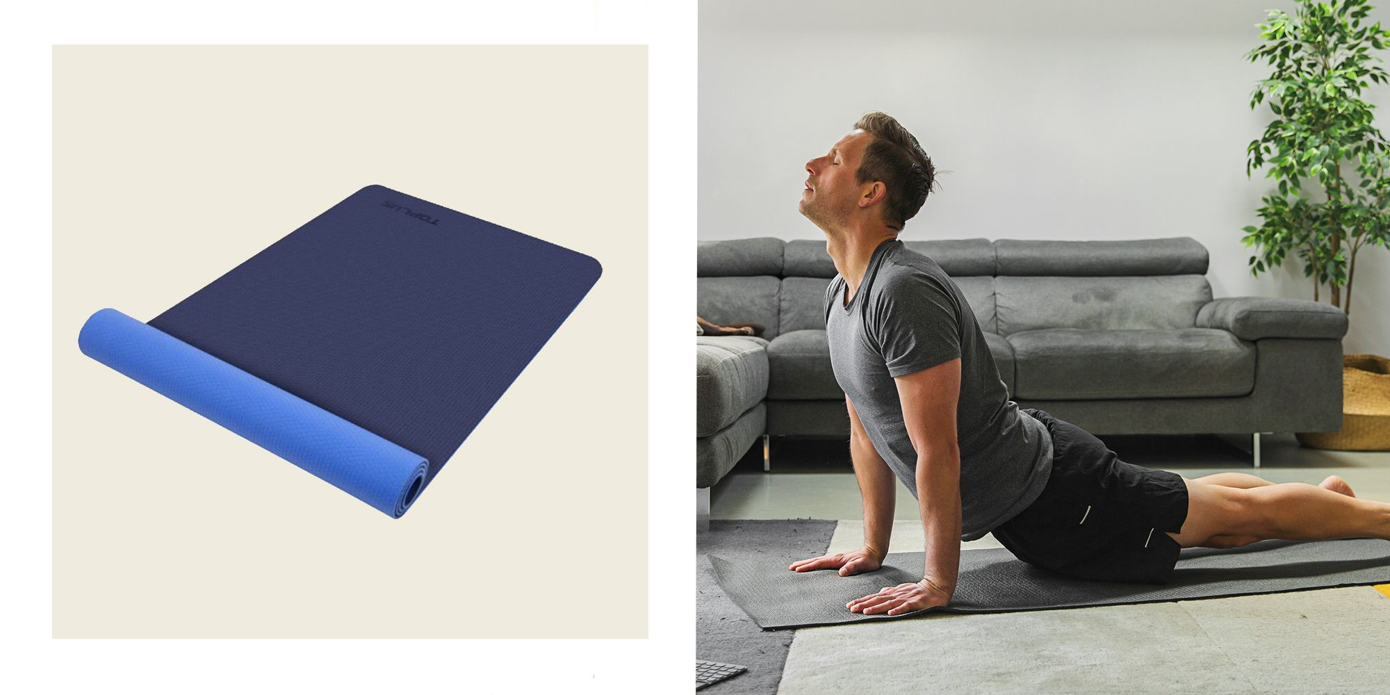 Workout and Yoga Mats That'll Make Your Sweaty Home Training Sessions More Enjoyable