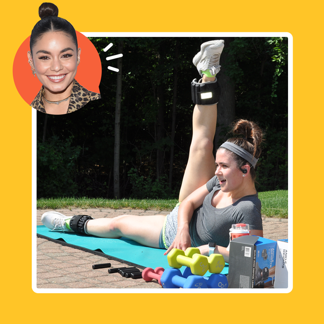 i worked out like vanessa hudgens