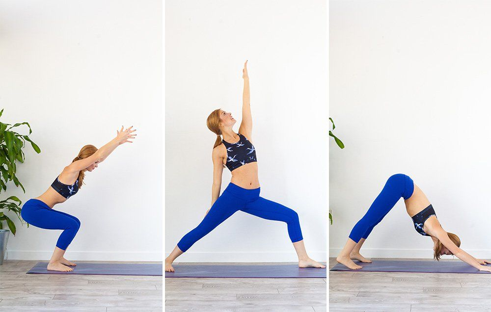 The HIIT Yoga Workout Will Satisfy All Your Calorie-Blasting and De-Stressing Needs