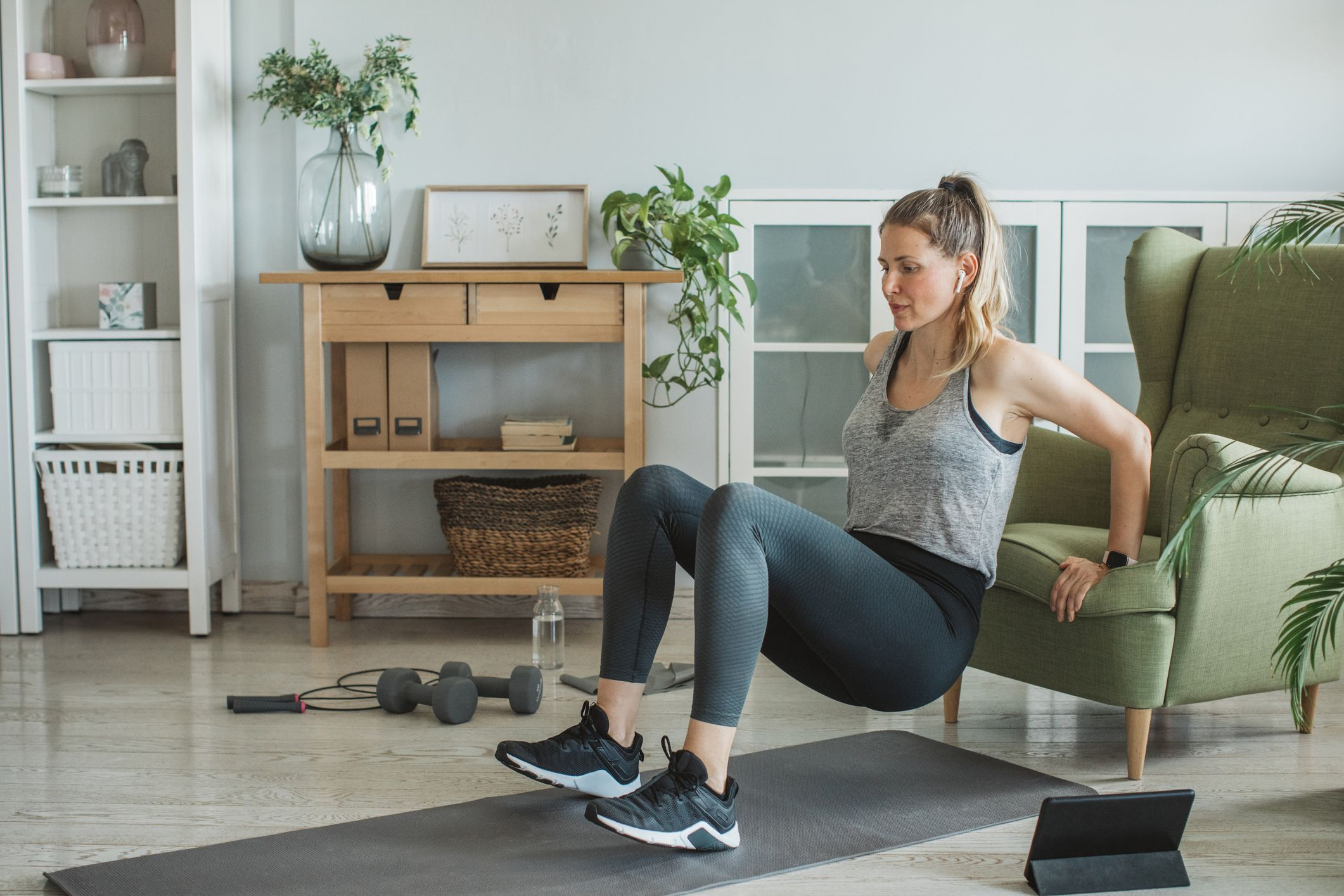 A HIIT Circuit to Supercharge Your Fitness & Results from Home