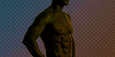 Human, Human body, Shoulder, Standing, Joint, Chest, Elbow, Waist, Barechested, Muscle,