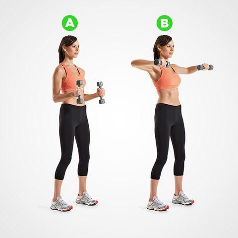 bent arm lateral raise