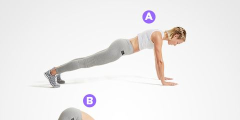 Downward Dog to Mountain Climber move