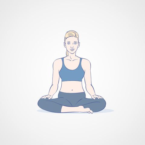 try the yoga routine that gives christina aguilera inner peace